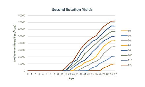 Rotation Yields Graph